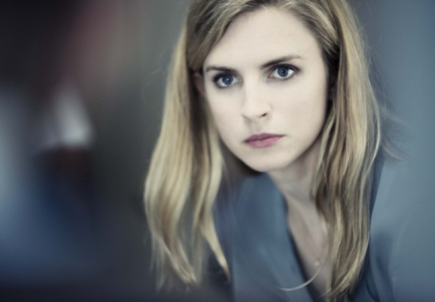 Brit Marling as Liz Garvey in Babylon