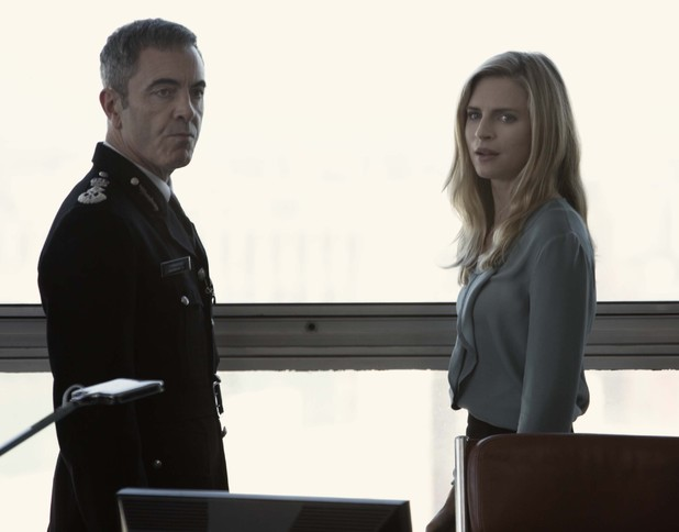 James Nesbitt and Brit Marling in Babylon