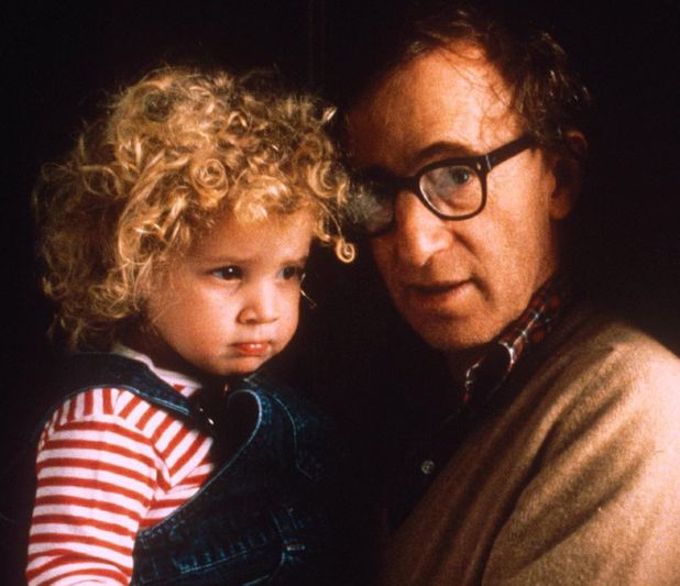 Woody Allen and adopted daughter Dylan Farrow