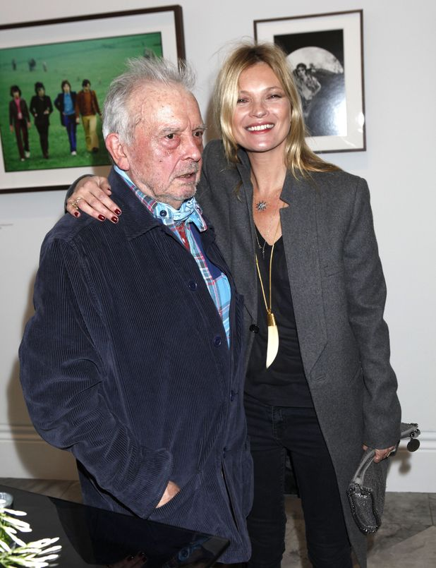 David Bailey and Kate Moss