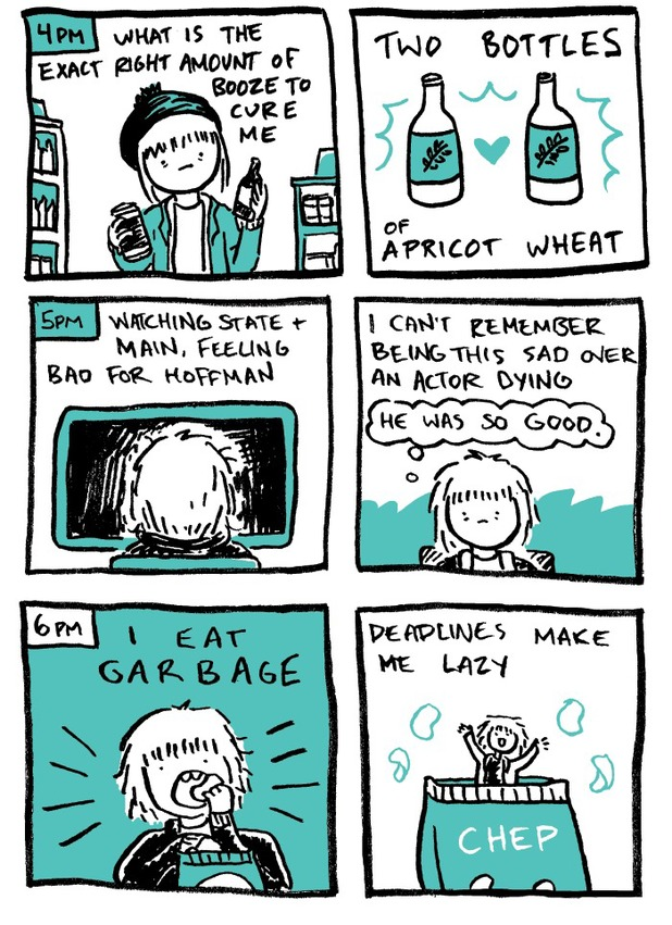 Hourly Comics Day - Kate Leth