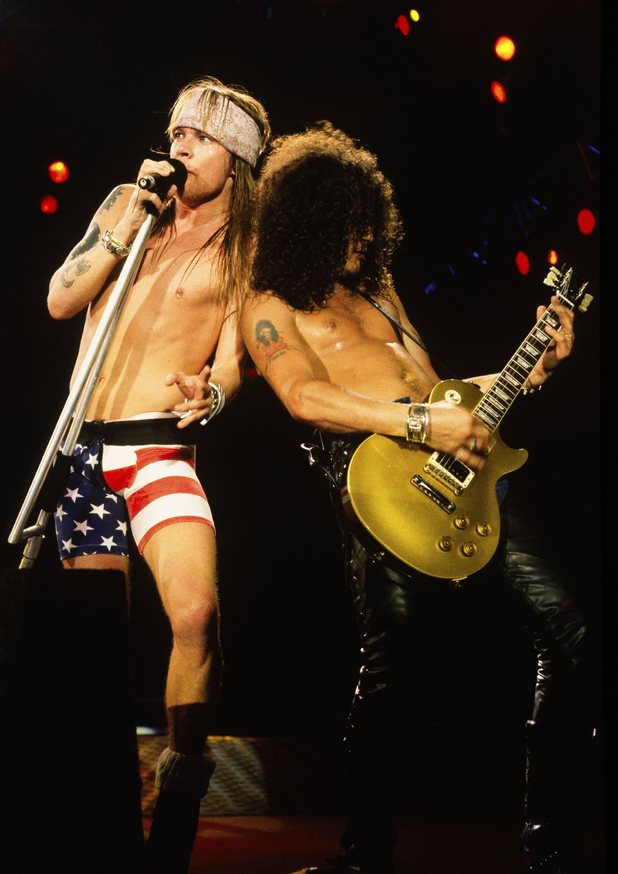 Guns N' Roses, Axl Rose, Slash