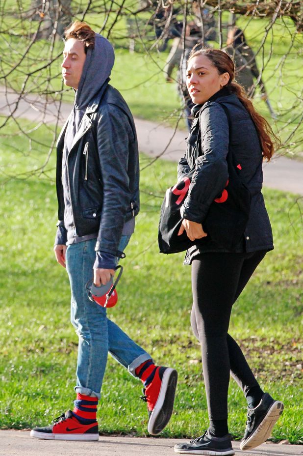 Nick Grimshaw and Miquita Oliver