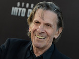 Leonard Nimoy at the LA premiere of Star Trek Into Darkness