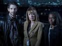 Fay Ripley, Damien Molony and Claire-Hope Ashitey on their improvised cop show.