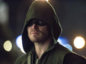 Stephen Amell as The Arrow in 'Arrow' S02E13: 'Heir to the Demon'