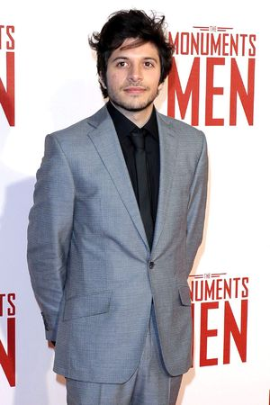 'The Monuments Men' film premiere, London, Britain - 11 Feb 2014 Dimitri Leonidas