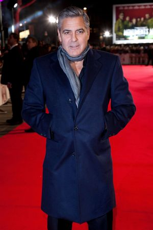 'The Monuments Men' film premiere, London, Britain - 11 Feb 2014 George Clooney