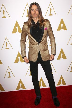 Jared Leto 86th Annual Academy Awards Nominee Luncheon, Los Angeles, America - 10 Feb 2014