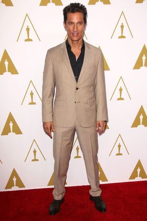 Matthew McConaughey 86th Annual Academy Awards Nominee Luncheon, Los Angeles, America - 10 Feb 2014