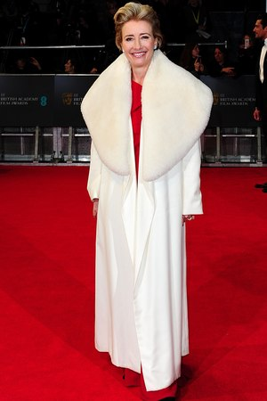Emma Thompson, BAFTA 2014, Red Carpet