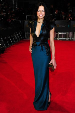 Michelle Rodriguez , BAFTA 2014, Red Carpet