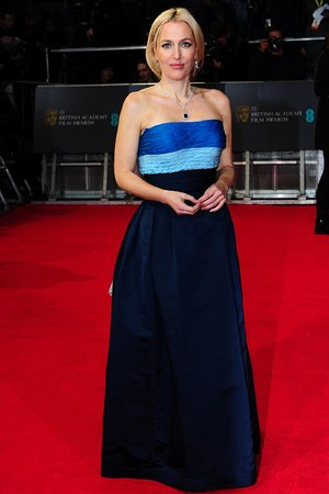 Gillian Anderson, BAFTA 2014, Red Carpet