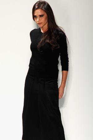 Victoria Beckham at her NYFW show