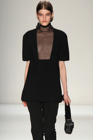 A Victoria Beckham outfit at NYFW
