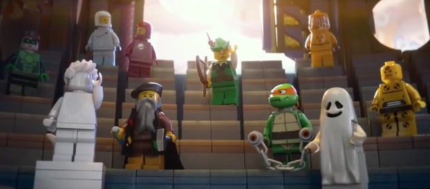 The Lego Movie takes the number one spot again at the US box office.