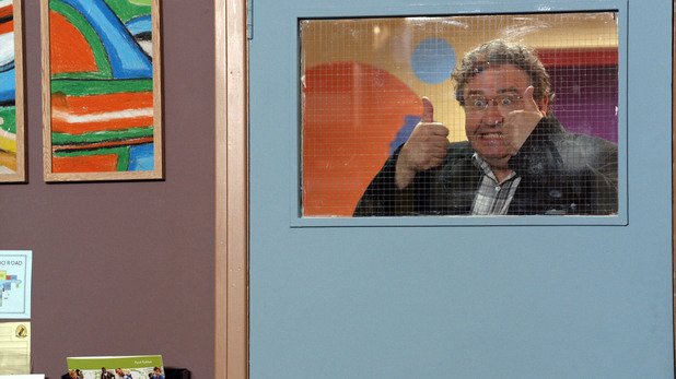 Mark Benton as Chalky in Waterloo Road