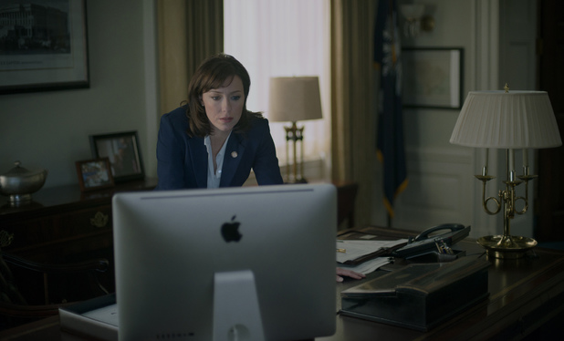 Molly Parker in House of Cards season 2