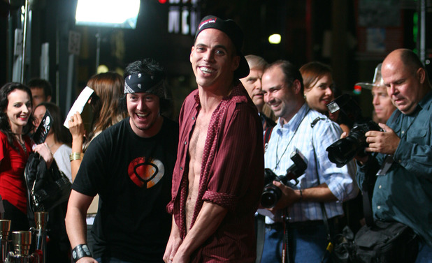 Steve-O during 'Jackass: Number Two' Los Angeles Premiere - Arrivals at Grauman's Chinese Theatre in Hollywood, California, United States
