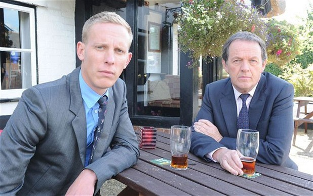 Laurence Fox & Kevin Whately in Lewis