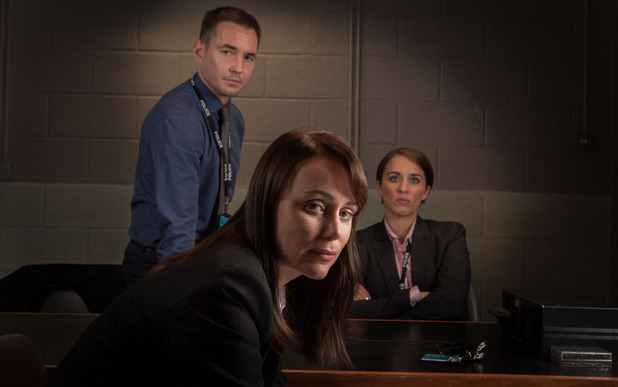 Martin Compston, Keeley Hawes & Vicky McClure in Line of Duty