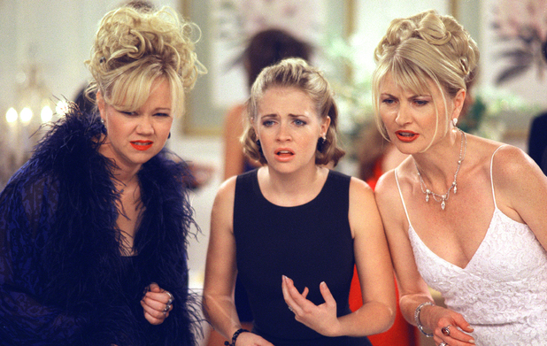 Caroline Rhea, Melissa Joan Hart & Beth Broderick in Sabrina, The Teenage Witch