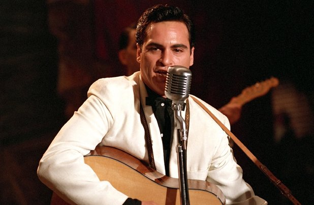 Joaquin Phoenix as Johnny Cash in Walk The Line, 2005