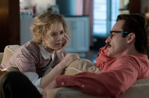 Joaquin Phoenix, Amy Adams in Spike Jonze's 'Her'