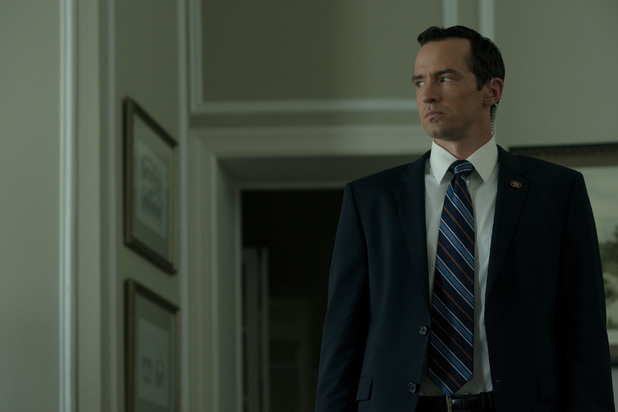 Nathan Darrow in House of Cards season 2