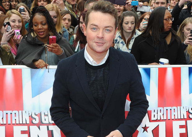 Stephen Mulhern at the Britain's Got Talent auditions in Hammersmith