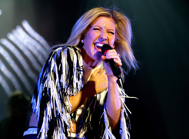 Ellie Goulding performs to a sold-out crowd at Heineken Music Hall