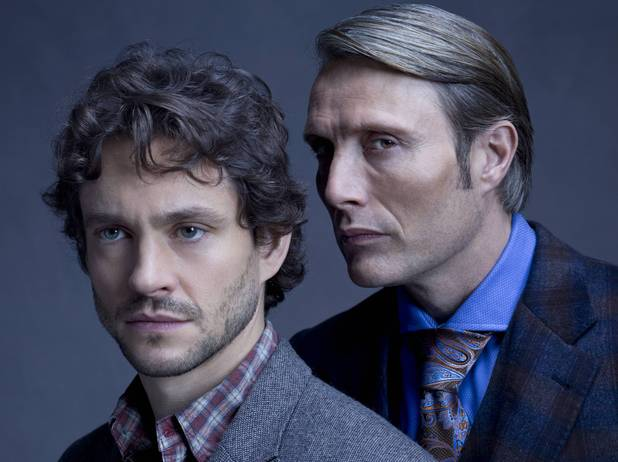 Will and Hannibal in Hannibal