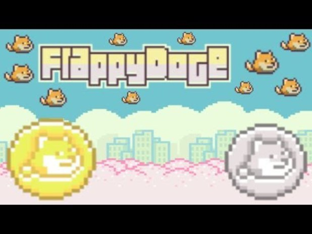 Screenshot from FlappyDoge