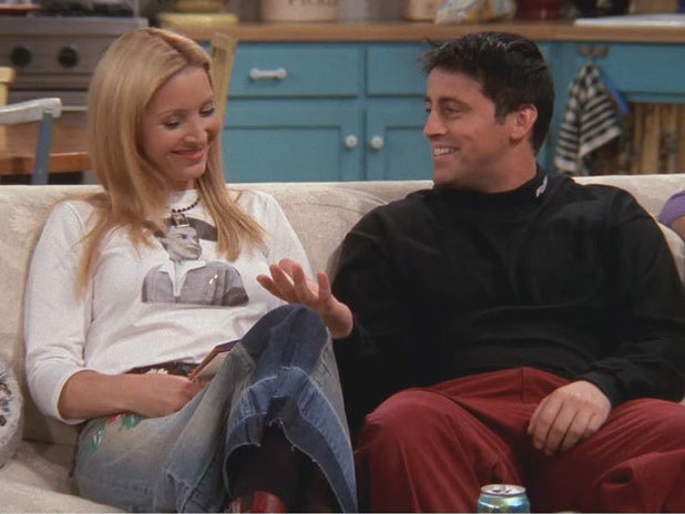 Phoebe and Joey in Friends