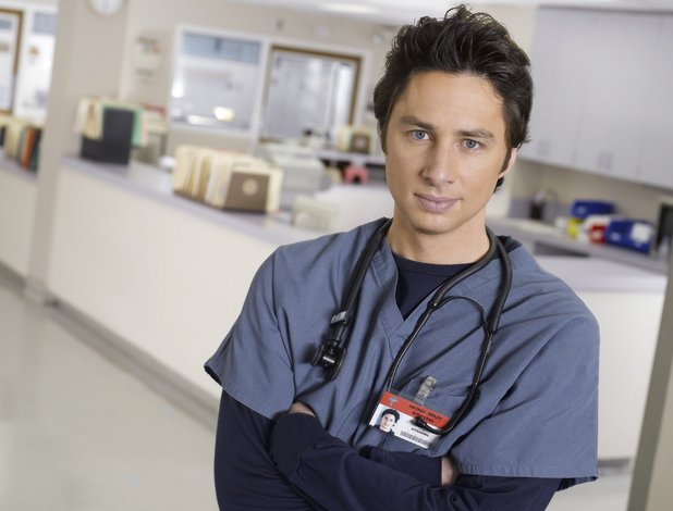 Zach Braff in Scrubs