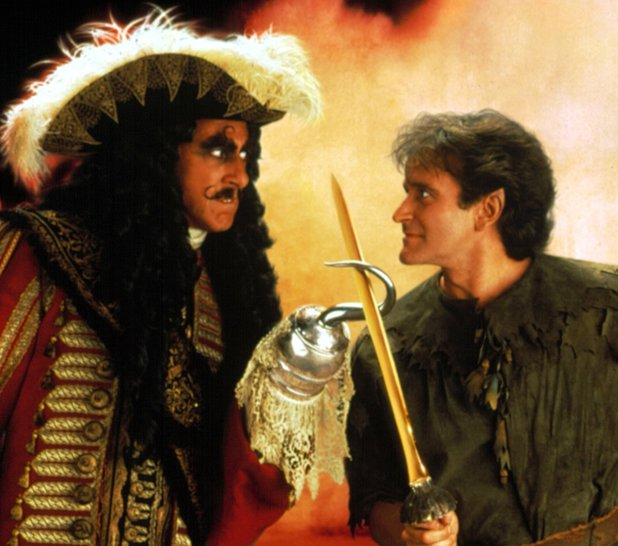 Dustin Hoffman & Robin Williams in Hook (1991)
