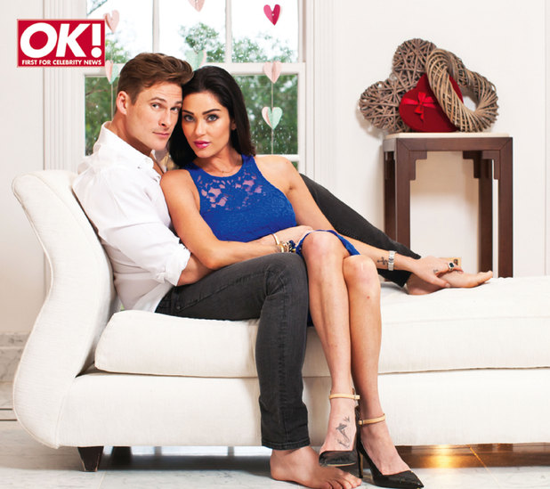 Lee Ryan and Jasmine Waltz in OK! magazine
