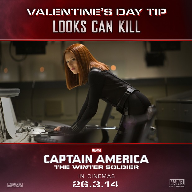 Captain America Valentines Day character image
