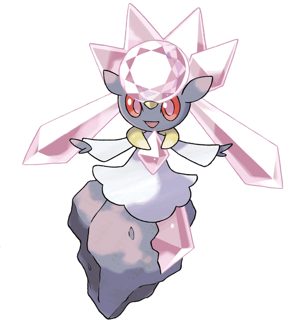 Mythical Pokemon Diancie is coming to X and Y