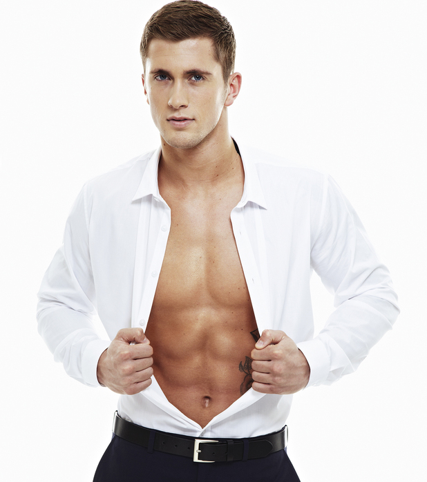 Dan Osborne undresses