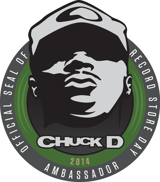 Chuck D of Public Enemy - Record Store Day ambassador