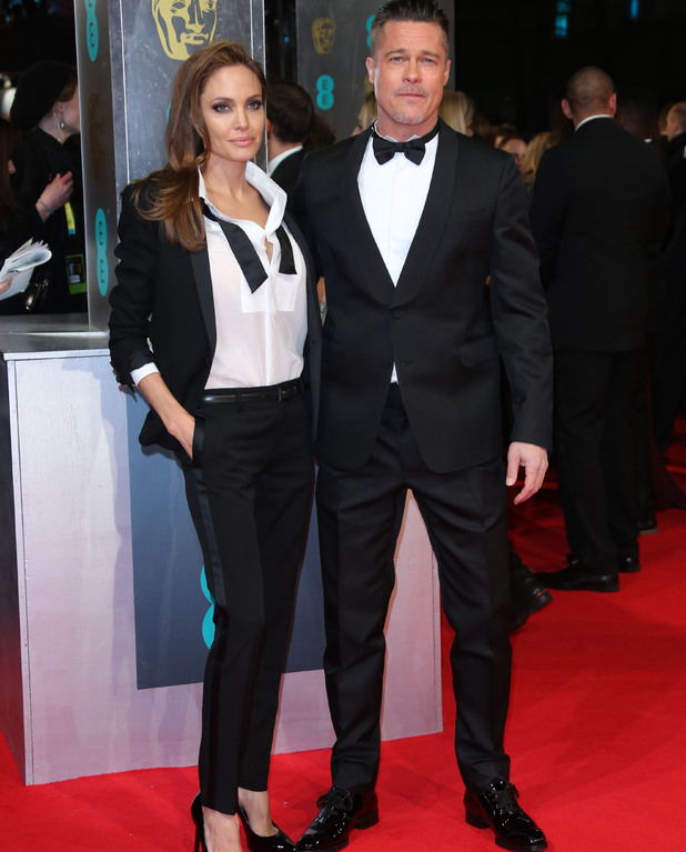 Brad Pitt and Angelina Jolie, BAFTA 2014, Red Carpet