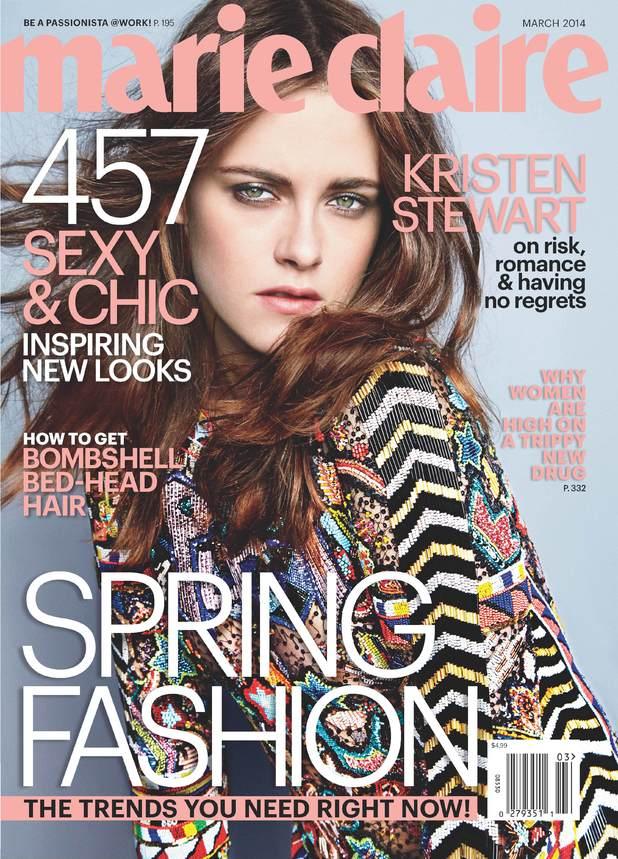 Kristen Stewart fronts Marie Claire