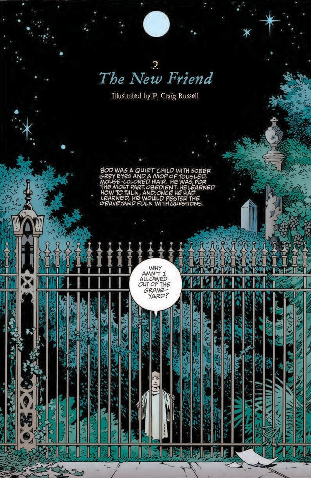 Neil Gaiman's The Graveyard Book