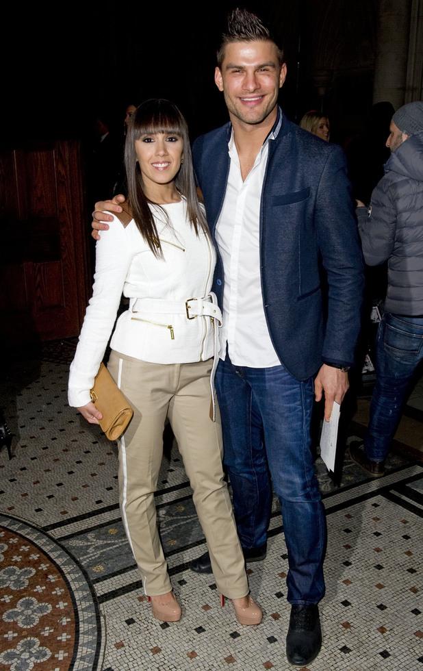 Janette Manrara and Aljaz Skorjanec