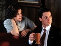Dale Cooper and Audrey in Twin Peaks