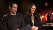 Colin Farrell & Jessica Brown Findlay 'A New York Winter's Tale'