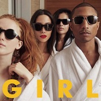 Pharrell Williams 'G I R L' album artwork.