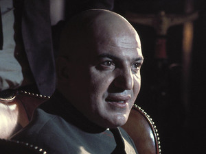 Telly Savalas as Ernst Stavro Blofeld in 'On Her Majesty's Secret Service'