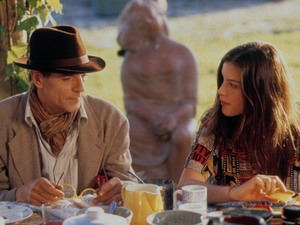Jeremy Irons & Liv Tyler in Stealing Beauty (1996)